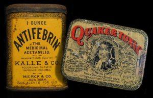 Упаковка антифебрина (начало 20 века)