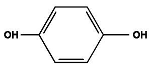 Формула гидрохинона