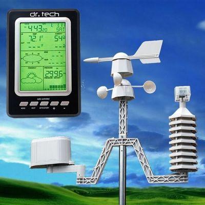 Электронный термометр для измерения температуры воздуха (фото)