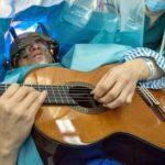 Положение больного на операционном столе при удалении менингиом