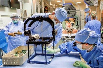 Стереотаксические операции в нейрохирургии