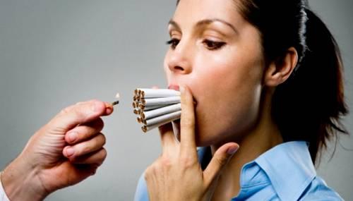 Вредные привычки: курение
