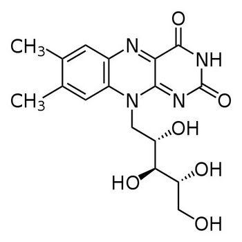 Рибофлавин: формула