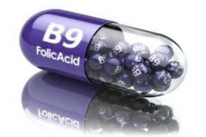 Фолиевая кислота (витамин В9, фолацин)