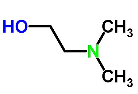 Формула диметиламиноэтанола