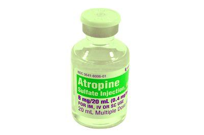 Центральный эффект атропина