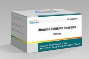 Коматозная доза атропина для атропинокоматозной терапии (АКТ)