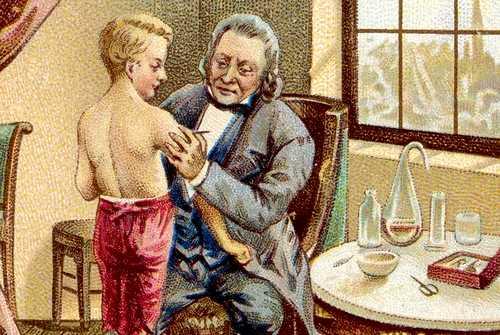Эдвард Энтони Дженнер - врач, который первую прививку от оспы сделал