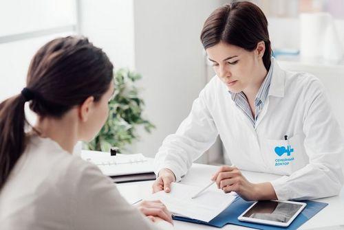 Консультация женщины с пролапсом гениталий
